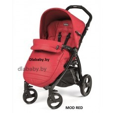 Коляска прогулочная PEG PEREGO BOOK COMPLETO MOD RED